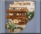 photo cross stitch House
