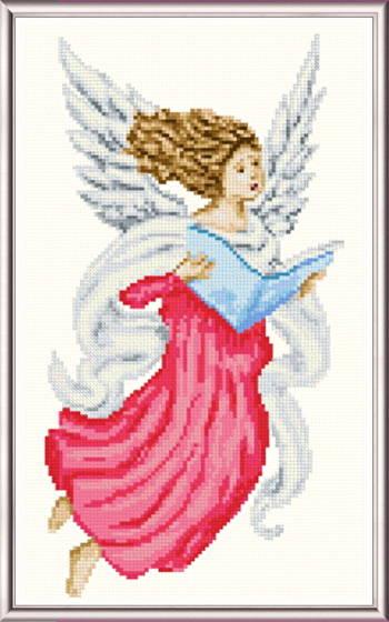 Singing Angel Cross Stitch Pattern Angels