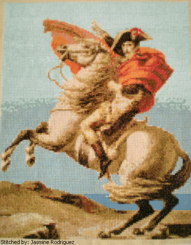 cross stitch pattern Napoleon