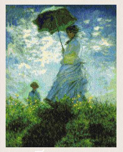cross stitch pattern Parasol