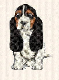 cross stitch pattern Rex