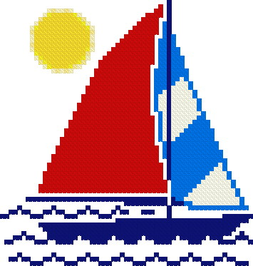 Sailboat Free Pattern Cross Stitch Pattern New Magnificent Cross Stitch Free Patterns