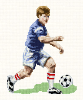 cross stitch pattern Soccer