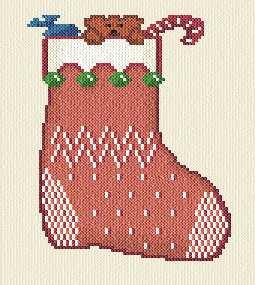 Cross Stitch Christmas Stocking Patterns - A1 Craft Patterns