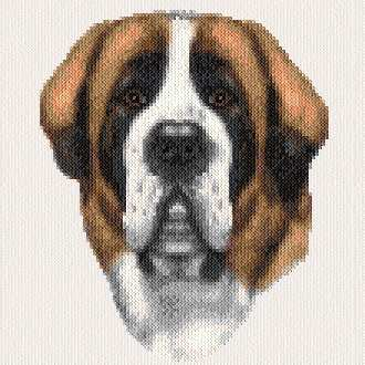 cross stitch pattern Barnaby