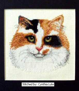 cross stitch pattern Calico