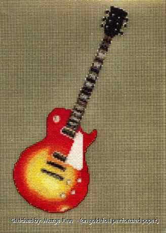 Free Stuff: Guitar Strings Cross Stitch Pattern - Listia.com