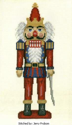 nutcracker cross stitch pattern