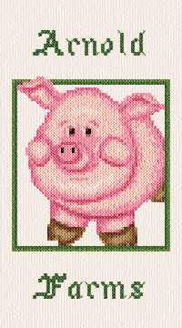 cross stitch pattern Arnold Farms