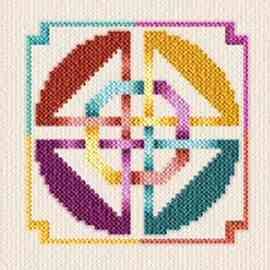 cross stitch pattern Celtic Knot