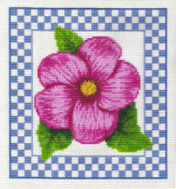 cross stitch pattern Alpine Wildflower