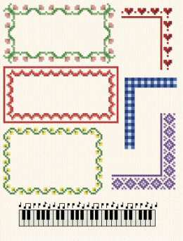 Multi Purpose Borders Cross Stitch Pattern