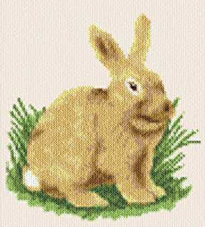 cross stitch pattern Bunny