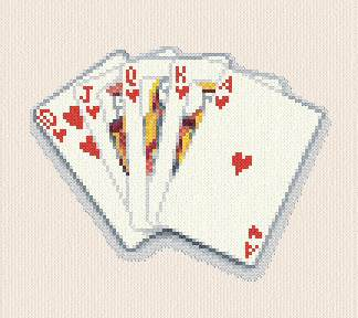 cross stitch pattern Cards