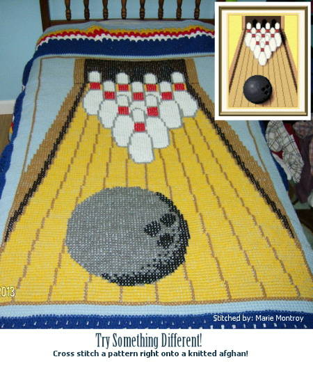 cross stitch pattern Bowling