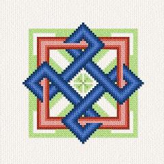 cross stitch pattern Celtic Knot - 2