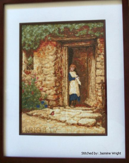 cross stitch pattern The Cottage Door