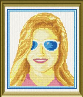 cross stitch pattern Cheap Sunglasses