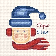 cross stitch pattern Toque Time