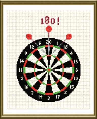 cross stitch pattern Darts