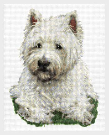 West Highland Terrier Cross Stitch Pattern Dogs