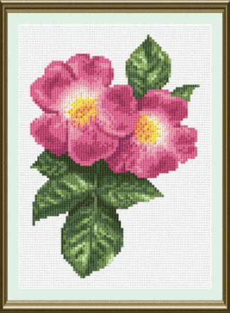 Tag: flower - MyPhotoStitch.com Free Cross Stitch Pattern Blog
