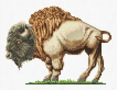 cross stitch pattern Buffalo