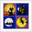cross stitch pattern Small Halloween Designs - 2