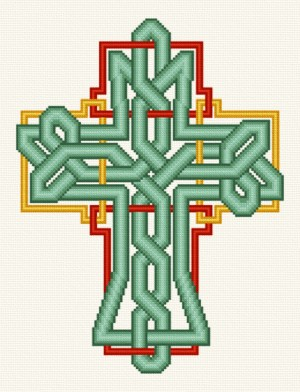 cross stitch pattern Celtic Knot Cross