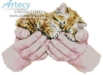 cross stitch pattern Embrace