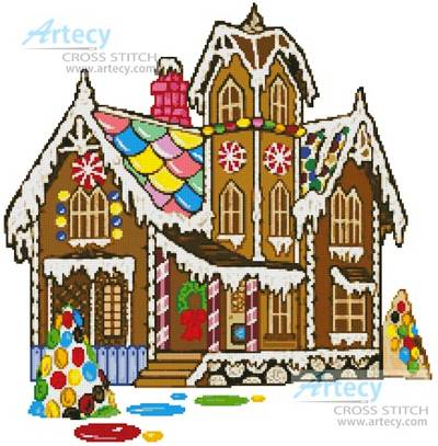 All About Gingerbread Houses, Templates, Recipes, Patterns, Ideas