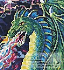 Mini Dragon Cross Stitch Pattern Mini