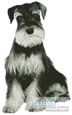 Schnauzer Cross Stitch Pattern Dogs
