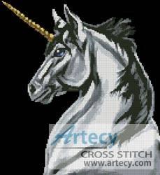 Unicorn Cross Stitch Pattern Unicorns