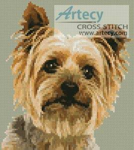 Mini Silky Terrier Cross Stitch Pattern Mini