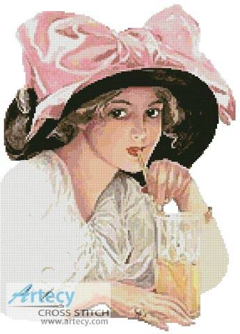 cross stitch pattern Refreshments