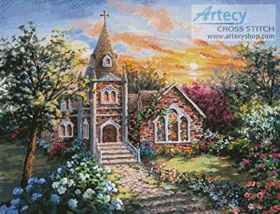 cross stitch pattern Charming Tranquility 2