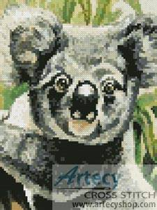 cross stitch pattern Mini Koala 2