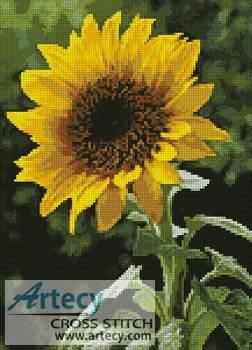 Sunflower Cross Stitch Pattern sunflowers