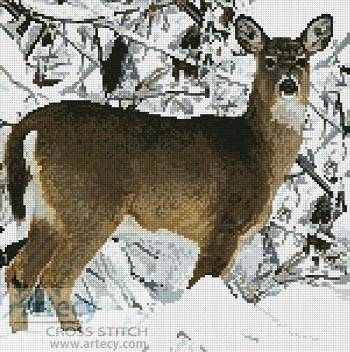 Shinysun's Cross Stitching - Deer and Elk Cross Stitch patterns