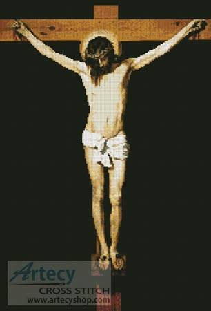 cross stitch pattern The Crucifixion
