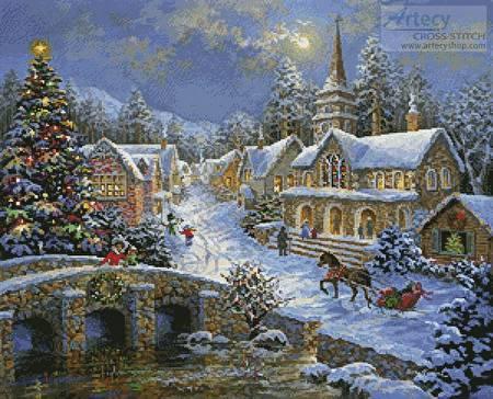Heaven on Earth 2 Cross Stitch Pattern christmas