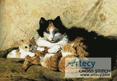 cross stitch pattern A Proud Mother