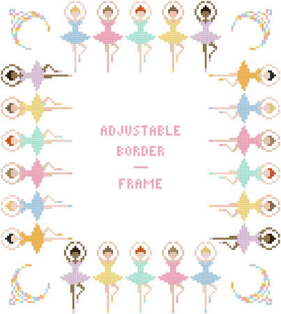 ballerinas borderframe adjustable