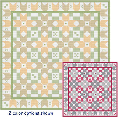 Quilt Border Calculator Kitty Cats Galo...