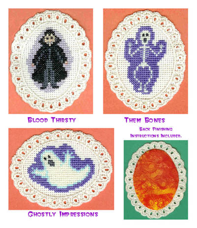 Small Halloween Cross Stitch Patterns Cross Stitch Pattern Scream
