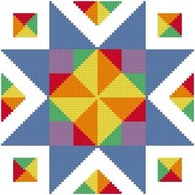 Quilt Patterns - 123Stitch.com - Cross Stitch, Fabric