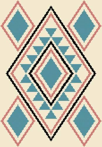 cross stitch patterns western design