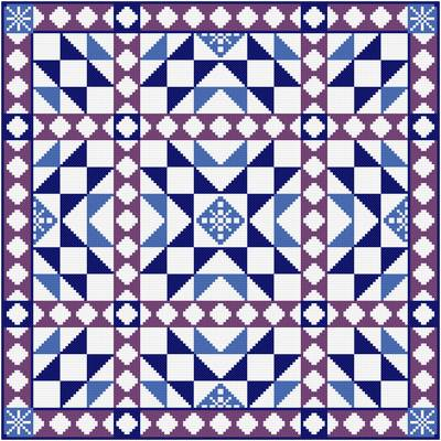 Quilt Patterns Cross Stitch : Royal Wedding Cross Stitch Pattern quilts