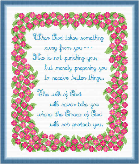 cross stitch pattern Chance for Better Things